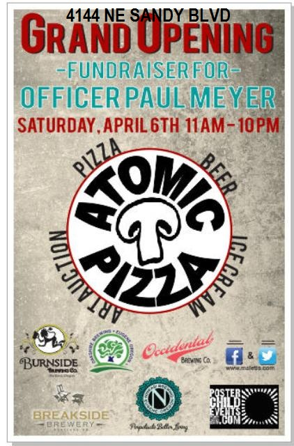 Atomic Pizza: Hollywood's Grand Opening Fundraiser